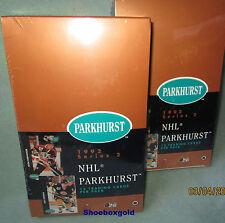 1991-92 Parkhurst NHL Hockey, Factory Sealed Series 2 BOX, Chock full of Rookies