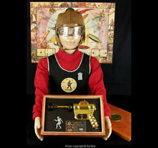 Buck Rogers XZ-34 helmet & goggles, knit vest Solar Scouts badge whistle premium