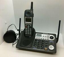 Panasonic KX-TG6500B 2 Line Handset KX-TGA650B Battery Cordless Phone