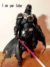 """11"""" Square Enix Play Arts Kai Star Wars Darth Vader Action Figure no box"""