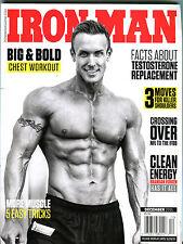 Iron Man Magazine December 2015 Brandan Fokken EX 123015jhe