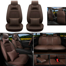 Custome Car Seat Cover Set PU Leather Fit For Dodge Ram1500 2500 3500 2009-2019