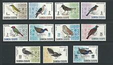 Samoa 1967 Birds Part set of 10 & 1 Overprint Complete MUH/MNH as Purchased