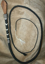 Vampire Hunter Costume ~ Halloween COFFIN Whip - Paracord BULLWHIP - 6' Large