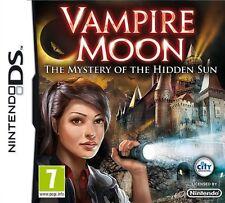 Vampire Moon: The Mystery of the Hidden Sun DS DSi New