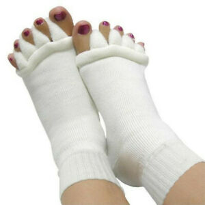Five fingers separate socks relieve sore feet and toes separate massage socks