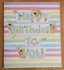 "'Happy Birthday To You' Boofle Birthday Card - 6.25"" x 5.25"" - Open/General"
