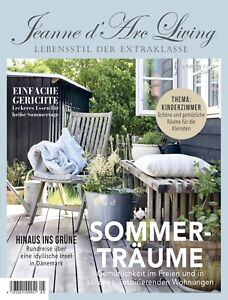 Jeanne d'Arc Living Magazin 5 2021 Shabby Chic Vintage Brocante Industry Style