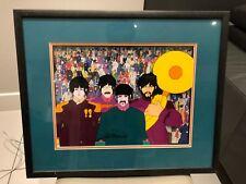 The Beatles Yellow Submarine - Animation Art Film Cell Framed FANTASTIC ITEM