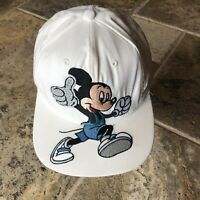 Vintage Disney Mickey Mouse Embroidered Mickey Character Baseball Style Hat