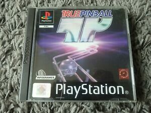 True Pinball - PlayStation 1 PS1 Game