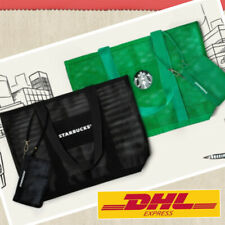 2020 New Starbucks Mesh Tote Bag Set 2 Pieces Special Design Starbucks Thailand