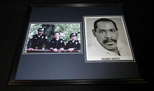 Bubba Smith Signed Framed 16x20 Photo Set Police Academy