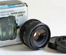 Minolta Mount Focal 28mm 2.8 Wide Angle Lens, 8 Element, Multi Coated