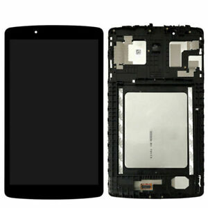For LG G Pad II 8.0 V498 LCD Digitizer Display Screen Touch + Frame Assembly
