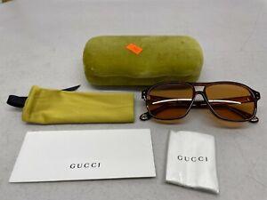 GUCCI Men's Sunglasses GG0475S 003 - Havana Frame
