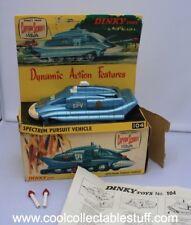 Vintage Dinky 104 Captain Scarlet Spectrum Pursuit Vehicle SPV Original in Box!