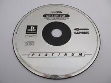 RESIDENT EVIL - SONY PLAYSTATION - Jeu PS1 Platinum PAL Fr Loose