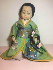 "Lenci Boudoir Doll  Japanese Butterfly #189 1925-26 25"""