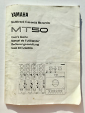 Yamaha MT50 MT-50 Multitrack Four 4-Track Cassette Recorder - Owner's Manual
