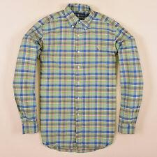 Ralph Lauren Herren Hemd Shirt Gr.S (wie M) Classic Fit Kariert Mehrfarbig 75035