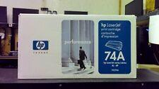 HP LaserJet 74A 92274A Black Toner Cartridge ~Free Shipping~ Genuine! New!
