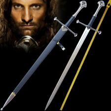 "L 51"" Lord of the Rings Anduril The Sword of Aragon holy sword Steel blade #0002"