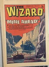 THE WIZARD weekly British comic book September 22, 1973