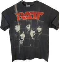 Ratt Dancing Undercover World Tour 1987 Mens L Hanes Vintage Graphic T-Shirt Tee