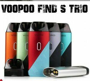 Voopoo Find S Trio 23W Kit Vape Pod Kit System | 1200mAh Battery | UK CLEARANCE