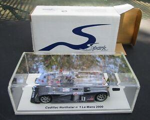 Spark 1/43 Cadillac Northstar LMP Le Mans 2000 #1 SCCN01