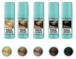 L'Oreal Magic Retouch Spray to cover white roots