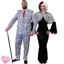 HALLOWEEN DALMATIAN FANCY DRESS COSTUMES HIS OR HERS TV FILM MOVIE CHARACTER