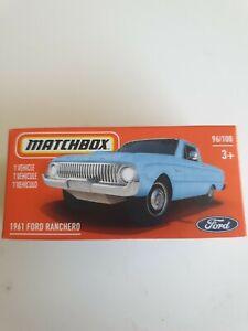 Matchbox 1961 Ford Ranchero (Falcon Ute) 96/100 2021
