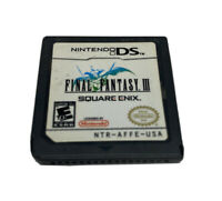 Square Enix Final Fantasy III Nintendo DS 2006 Game Cart Only UnTested