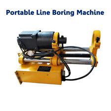 New 110v Portable Line Boring Machine 45mm 180mm Bore Diameter Hole Driller