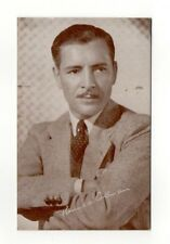 Ronald Coleman 1940's Actor Film Star Exhibit Arcade Card