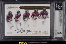 2016 Panini Flawless Progression Will Fuller V ROOKIE RC AUTO /20 BGS 9