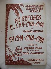 Partition No Refuse El Cha Cha Cha by Brotas Ey Cha Cha Cha Chiboust