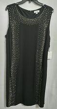 Calvin Klein Woman Plus 20W Black Sequin Cocktail Dress NWT