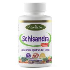Schisandra CHINENSIS forte 10:1 capsule di estratto 60Veg | Supporto Surrenale energia