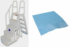 MAIN ACCESS 200100T Above Ground Swimming Pool Smart Step/Ladder System w/ Pad