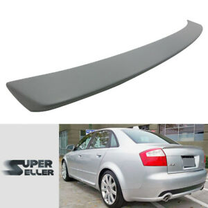 Fit For Audi A4 B6 S TYPE BOOT WING TRUNK SPOILER REAR NEW FRP 2002-2005