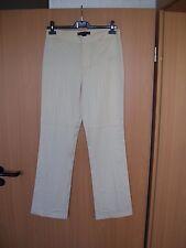 Ralph Lauren black Label Nadelstreifen Hose Wolle beige Size 8 Gr 40  L 34 neu