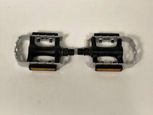Wellgo C127 Aluminum & Resin Platform Pedals 9/16 Black P C127
