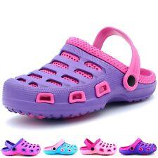 Women's Garden Clogs Shoes Slip-On Mules Beach Lightweight Slipper Sandals