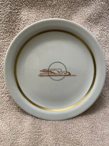 VINTAGE UNION PACIFIC WINGED STREAMLINER PIE PLATE MINT