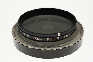 Hoya 52mm Circular Polariser filter. MINT- condition. Made in Japan.