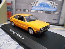 VW Volkswagen Scirocco Coupe 1 MKI 1974 gelb yellow Maxichamps Minichamps 1:43