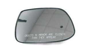 2010-2013 Kia Forte Passenger RH Side Power Heated Mirror Glass 87621-1M010